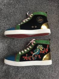 christian louboutin shoes sea horse uk size 7 in southwark