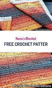 free crochet patterns for home decor nana s blanket free crochet pattern crochet homedecor handmade
