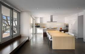 interior kitchens kitchen minimalist modern house interior decoration information