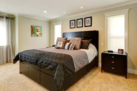 how to stage small bedroom gray paint wall decorating ideas