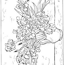 coloring page for van van coloring pages sunflower coloring page van starry night coloring