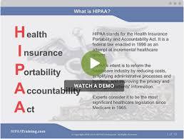 hipaa training certification and compliance