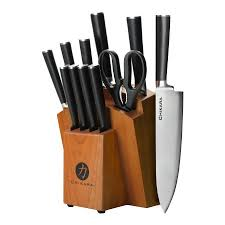stainless steel kitchen knives ginsu gourmet chikara series forged 12 japanese steel knife
