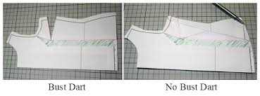 dress pattern without darts removing bust darts from a pattern mariadenmark sewing