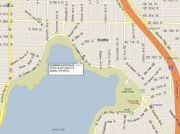 seattle map green lake directions to greenlake guest house bed breakfast seattle