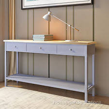 Kitchen Console Table With Storage Vintage Retro Console Tables Ebay