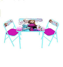 Folding Childrens Table And Chairs Excellent Disney Folding Table And Chair Novoch Me