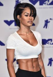 teyana taylor wears a look similar to janet jackson at the vma u0027s