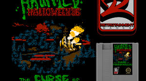 haunted halloween u002786 the curse of possum hollow nes game by