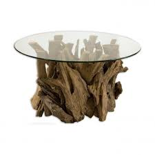 coffee tables mesmerizing glass top driftwood coffee table ideas