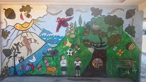 public art in north fair oaks north fair oaks community murals at fair oaks community school