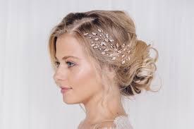 wedding headpiece large gold silver or gold wedding hairpins maisie
