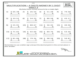 4 digit by 1 digit multiplication worksheets dirty weekend hd