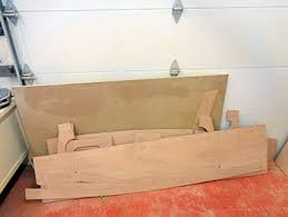 building a scamp sailboat cutting the pieces