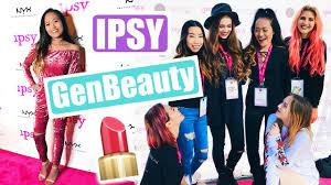 ipsy cocktail party u0026 generation beauty la 2017 youtube