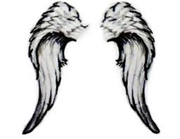 with my s name between the wings i would if i could