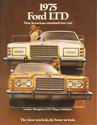 Old Ford Truck Brochures - 1975 ford ltd in ford vintage car brochures vintage cars