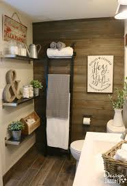 rustic bathroom decor ideas bathroom rustic farmhouse decor the small modern half bathroom