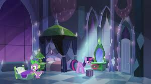 My Little Pony Bedroom Image Twilight And Spike In Empire Bedroom Eg Png My Little