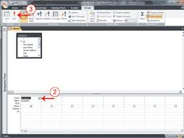 Delete All Rows From Table Creating Access Queries