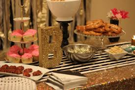 bnb styling 25th birthday cocktail party cookie image ideas