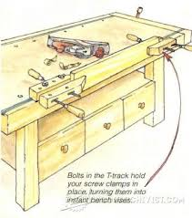 Woodworking Bench Vise Installation by 233 Best Clamp Vice And Hold Down Systems Images On Pinterest