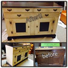 Maple Wood Furniture Maple Wood Buffet Painted With General Finishes Milk Paint In