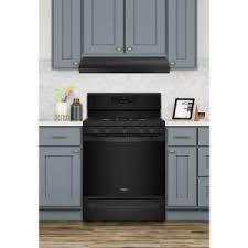 whirlpool under cabinet range hood whirlpool 30 in range hood in black uxt3030adb the home depot