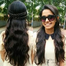 simple hairstyles for long hair that elegant chic