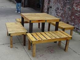 octagon picnic table plans with detached benches bench decoration
