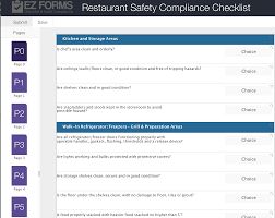 Food Safety Inspection Checklist Restaurant Mind Map Graphic