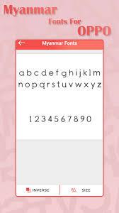 myanmar font apk free myanmar font for oppo myanmar fonts 1 0 apk android 2 2 x