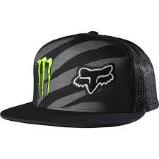 monster energy motocross jersey fox racing monster energy zebra snapback hat black available at