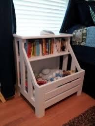 Toybox With Bookshelf Kids Bookshelf White Foter