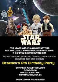 Star Wars Baby Shower Invitations - star wars birthday invitation template