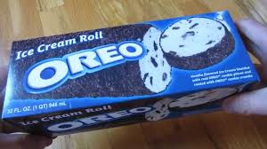 oreo the oreo ice cream roll log roll youtube