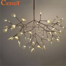 Chandeliers Modern White Tree Branches Chandeliers Modern Suspension Hanging Light