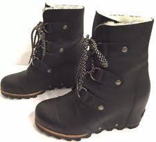 ebay womens winter boots size 11 womens size 11 sorel joan of arctic shearling leather winter warm