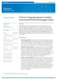 a primer comparing japanese australian dutch and uk rmbs and mort u2026