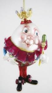 nursery rhyme ornament humpty dumpty christmastree bulb