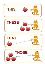 demonstrative pronoun worksheet by mary81