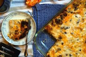 breakfast casserole with mushroom