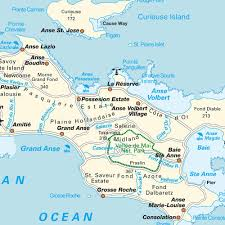 Map Of East Africa by Island Map Praslin Seychelles Maps And Directions At Map