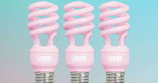 soft pink light bulbs where you can buy this flattering rosy light bulb