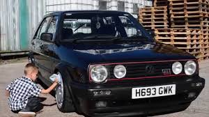 golf volkswagen gti 1990 volkswagen golf gti 16v youtube