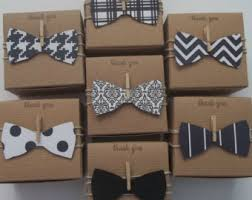 bow boxes baby shower bow tie favor boxes bow by thelondonloft