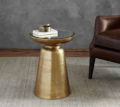 Brass Accent Table Octavia Accent Table Pottery Barn