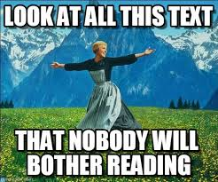Sound Of Music Meme - aka the citation page look at all this text on memegen