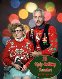 Diy Ugly Christmas Sweater Party Decorations 25 ugly christmas sweaters you wish that you owned babble