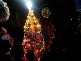 solar power lights up costa brava tacloban for christmas